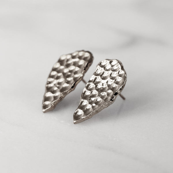 Da Cliff Earring (Raw) - 925 Sterling Silver