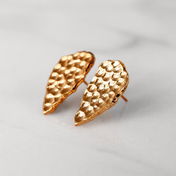 Da Cliff Earring (Raw) - Rose Gold