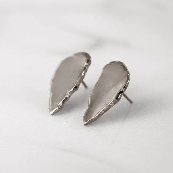 Da Cliff Earring (Mirror) - 925 Sterling Silver