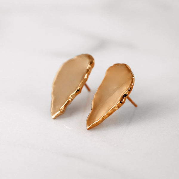 Da Cliff Earring (Mirror) - Rose Gold