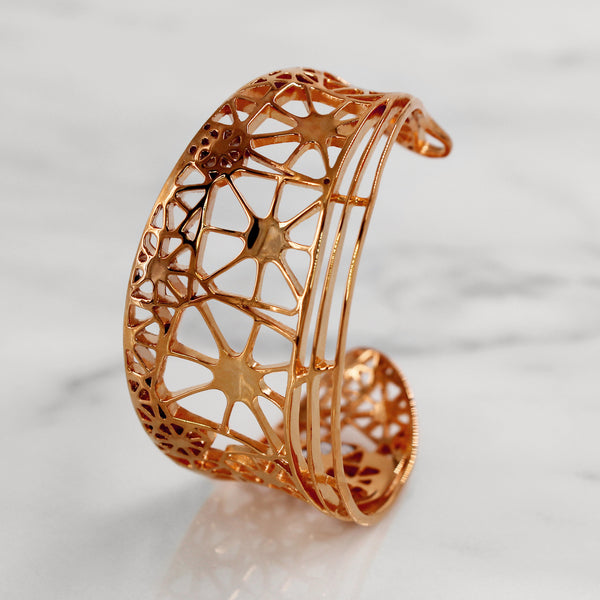 Da Dragonfly Bangle - Rose Gold