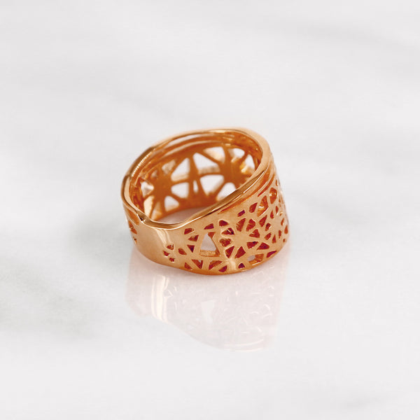 Da Dragonfly Ring - Rose Gold