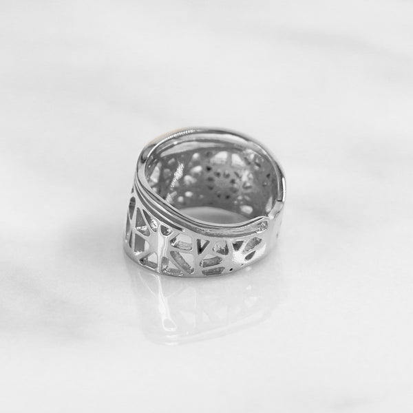Da Dragonfly Ring - White Gold