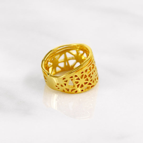 Da Dragonfly Ring - Yellow Gold