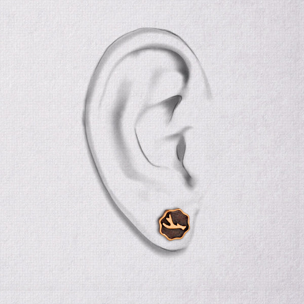 Da Earring - Rose Gold