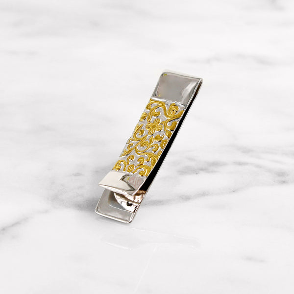 Da Floral Decor Money Clip