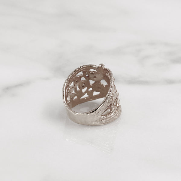 Da Lace Ring - 925 Sterling Silver