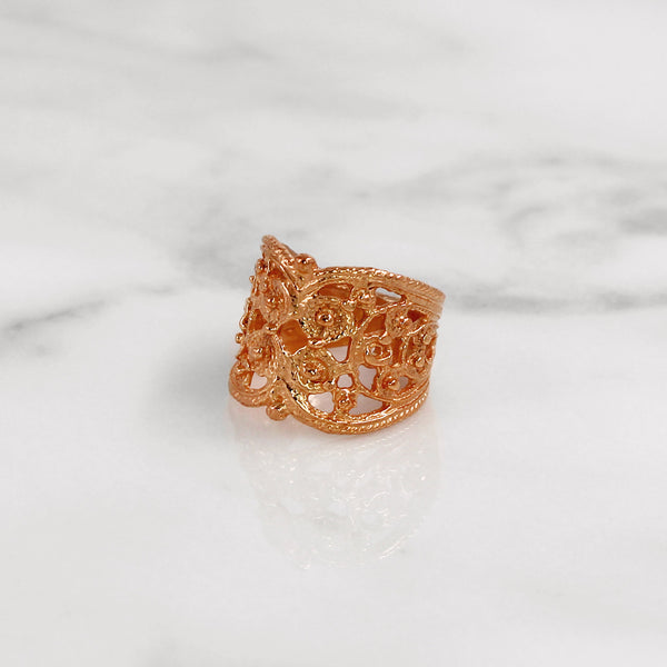 Da Lace Ring - Rose Gold