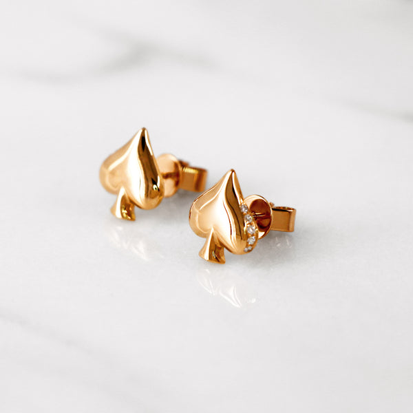 Da Moksha Earring - Rose Gold