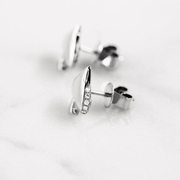 Da Moksha Earring - White Gold