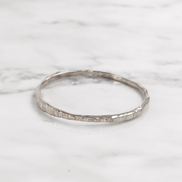 Da Mountain Bangle - 925 Sterling Silver