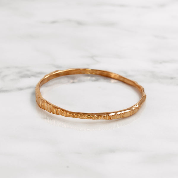Da Mountain Bangle - Rose Gold
