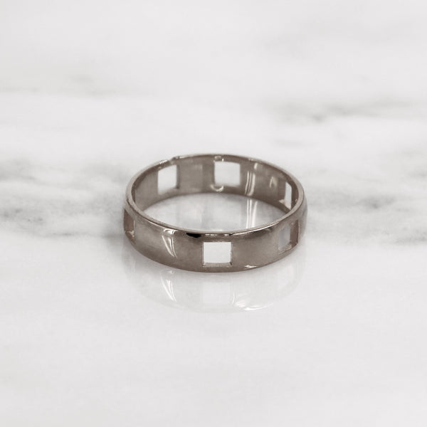 Da Puzzle Ring Set (FOREVER) - 925 Sterling Silver