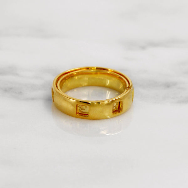 Da Puzzle Ring Set (FOREVER) - Yellow Gold