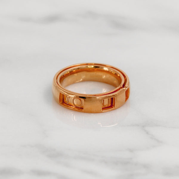 Da Puzzle Ring Set (I LOVE YOU) - Rose Gold