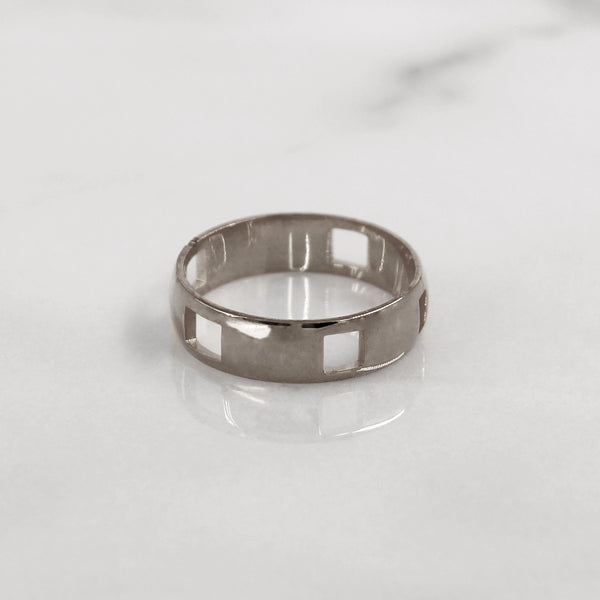 Da Puzzle Ring Set (CUSTOM YEAR) - 925 Sterling Silver