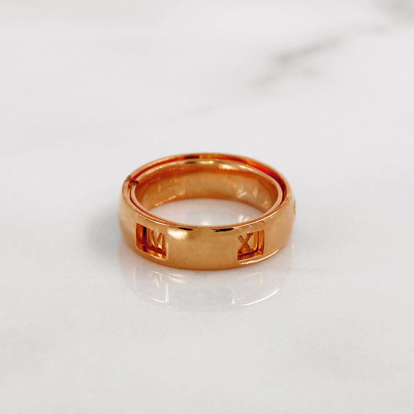 Da Puzzle Ring Set (CUSTOM YEAR) - Rose Gold