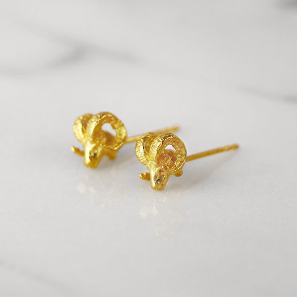 Da Ram Earring - Yellow Gold