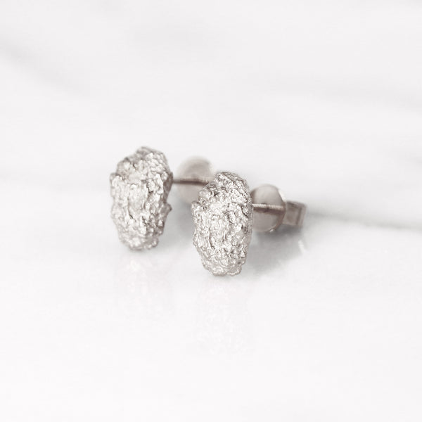 Da Rock Earring Medium - 925 Sterling Silver