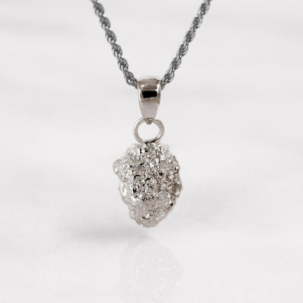 Da Rock Heart Pendant - 925 Sterling Silver