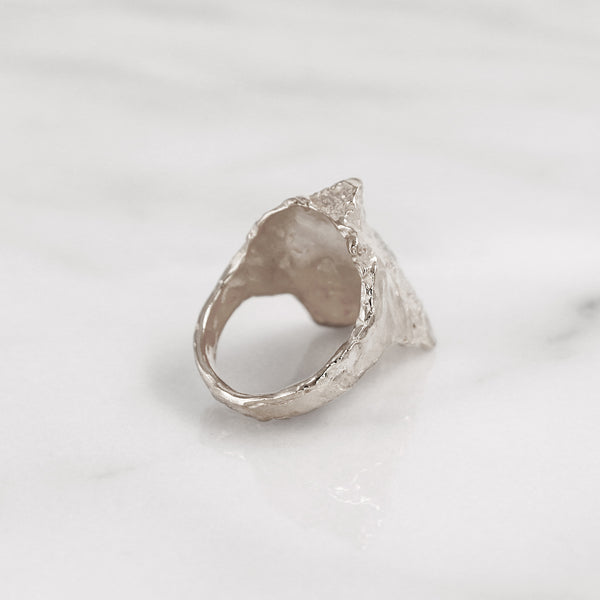 Da Rock Ring - 925 Sterling Silver