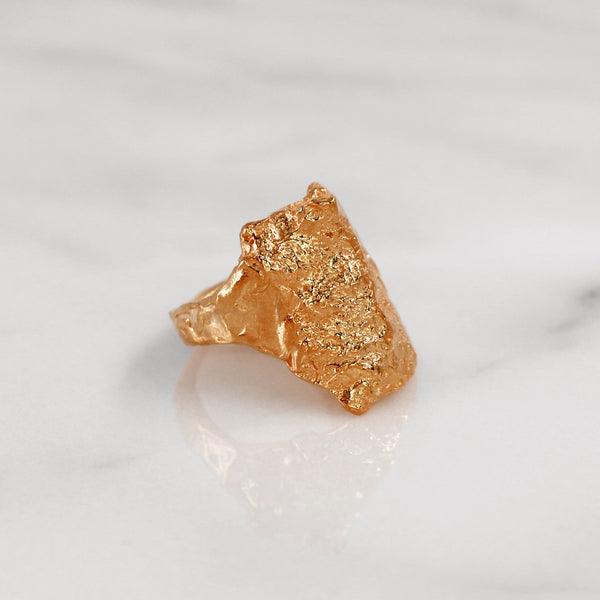 Da Rock Ring - Rose Gold