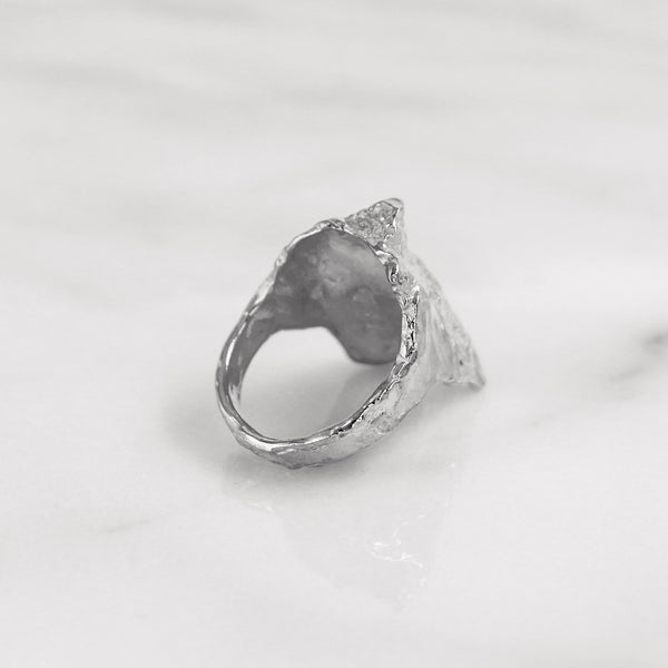 Da Rock Ring - White Gold