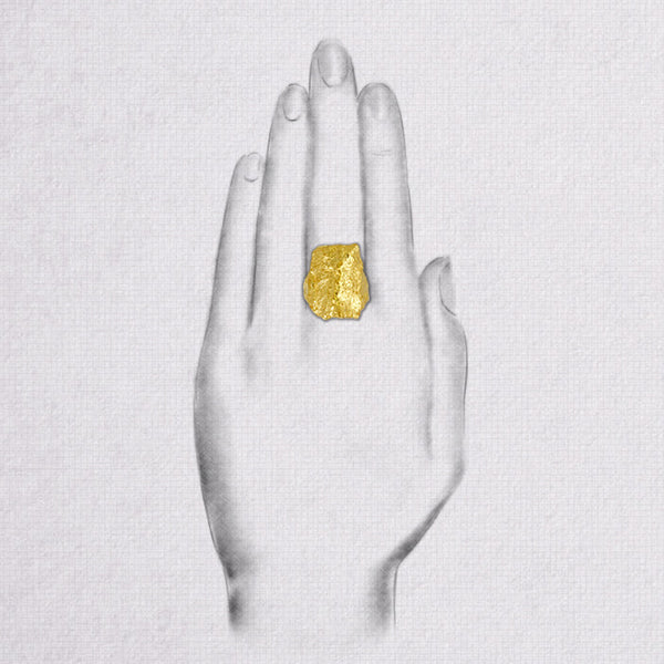 Da Rock Ring - Yellow Gold