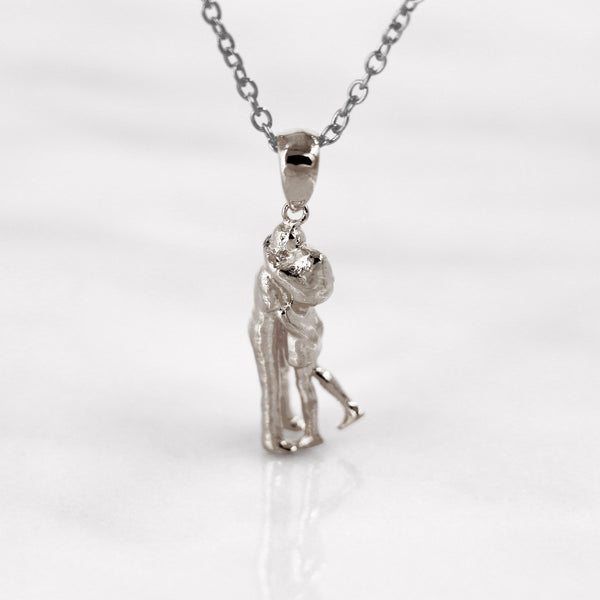 Da Loving Couple Pendant - 925 Sterling Silver