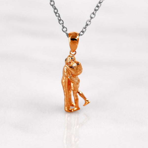 Da Loving Couple Pendant - Rose Gold