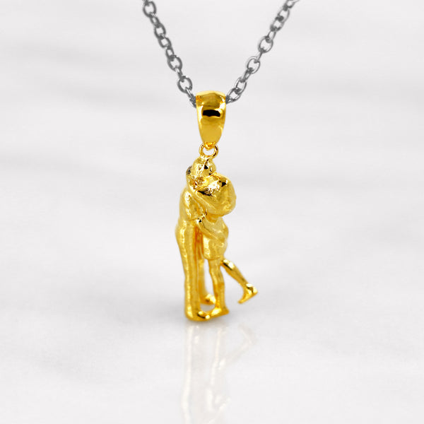 Da Loving Couple Pendant - Yellow Gold