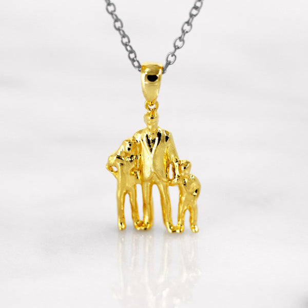 Da Trio Pendant - Yellow Gold