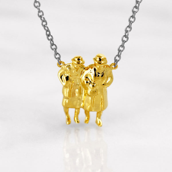 Da BFF Ladies Pendant - Yellow Gold
