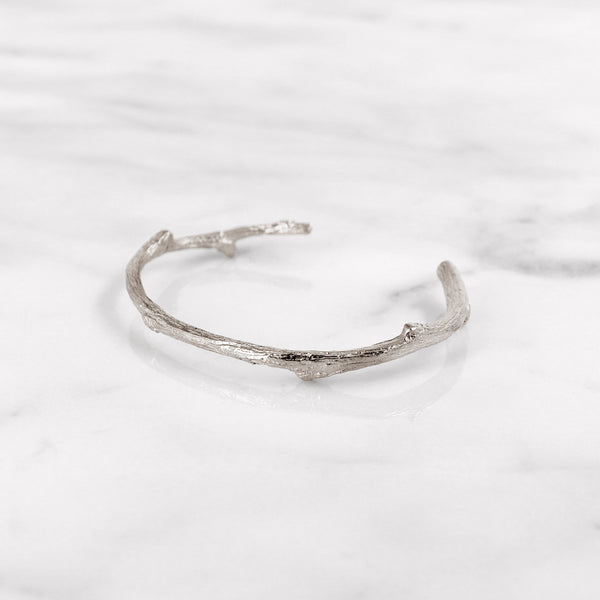 Da Twig Bangle 1 - 925 Sterling Silver