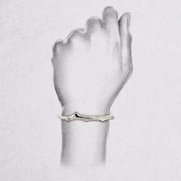 Da Twig Bangle 3 - 925 Sterling Silver