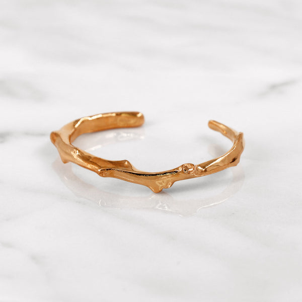 Da Twig Bangle 3 - Rose Gold