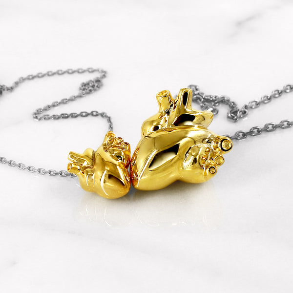Da Unforgetting Pendant Large - Yellow Gold