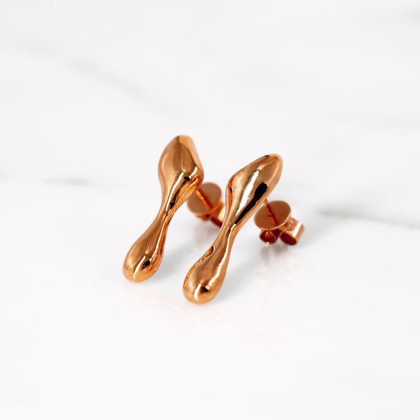 Da Water Dropping Earring - Rose Gold