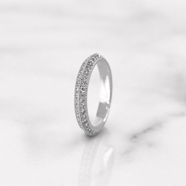 Da d.cept Ring - White Gold