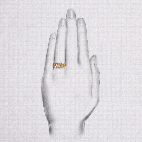 Da d.cope Ring - Rose Gold