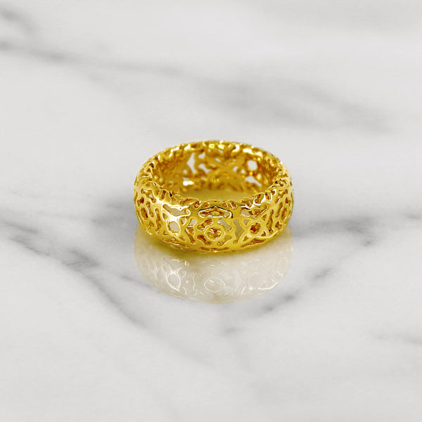 Da d.cope Ring - Yellow Gold