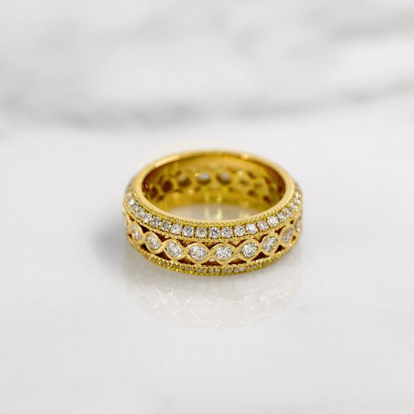 Da d.tent Ring - Yellow Gold