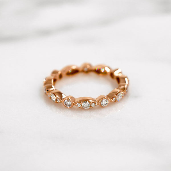 Da d.toz Ring - Rose Gold