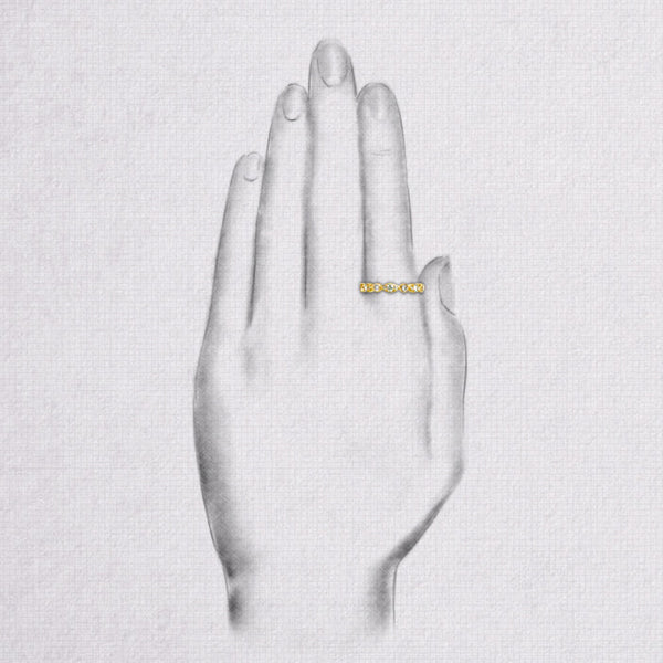 Da d.toz Ring - Yellow Gold