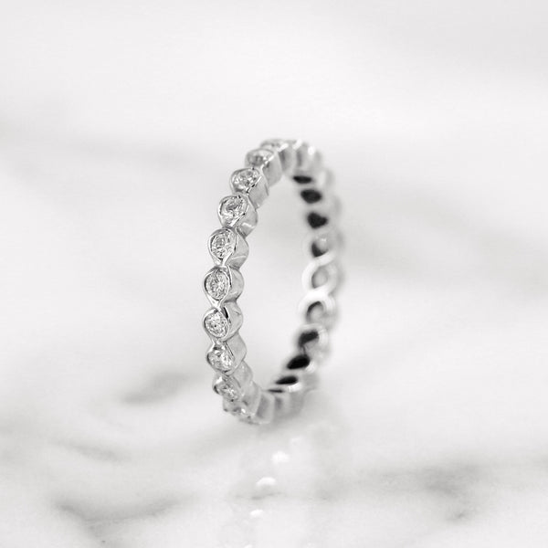 Da d.van Ring - White Gold
