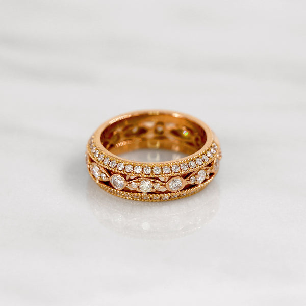 Da d.vine Ring - Rose Gold