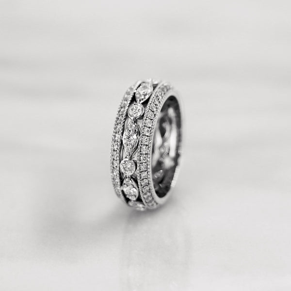 Da d.vine Ring - White Gold