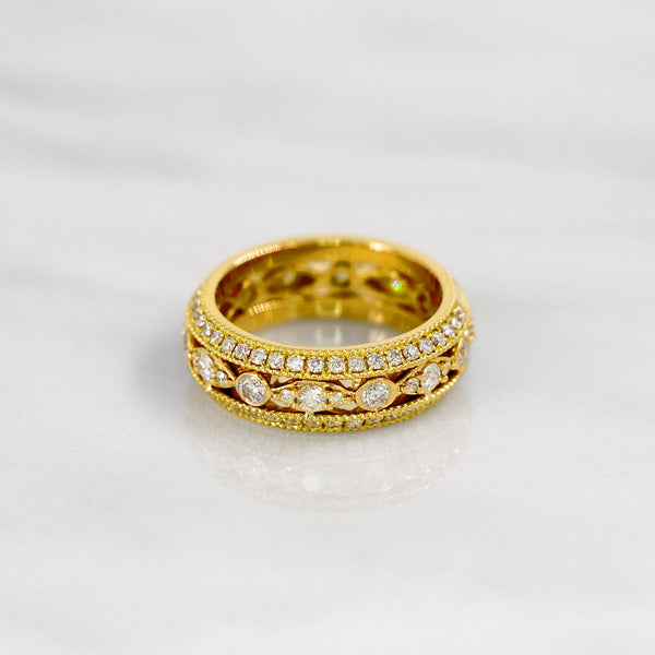 Da d.vine Ring - Yellow Gold