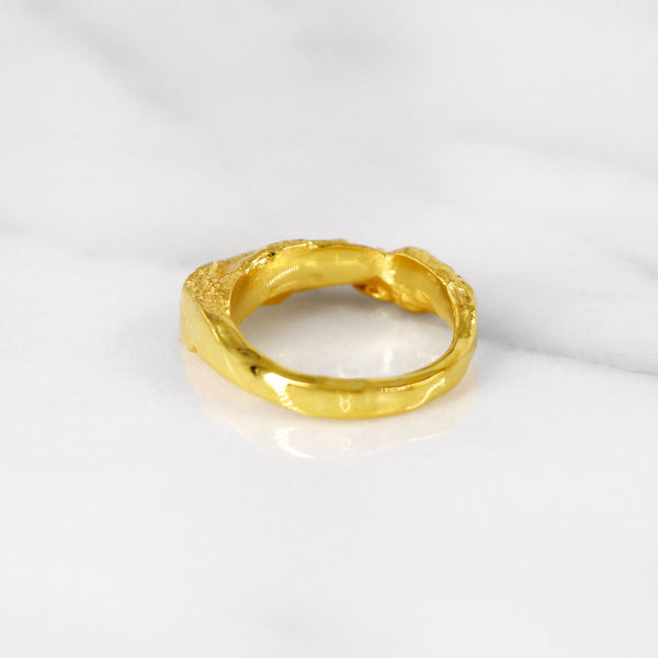 Da Mountain Ring - Yellow Gold