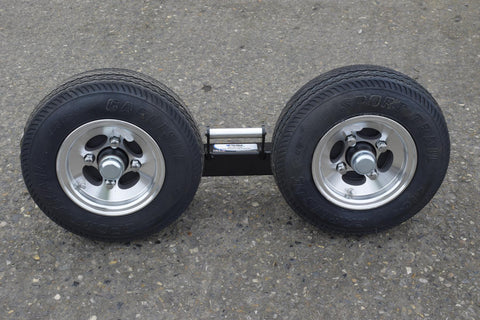 Speed Dolly Set with Aluminum Wheels